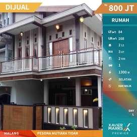 Rumah konsep villa di Pesona Mutiara Tidar