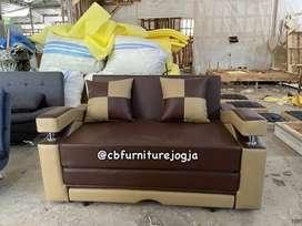 Sofa bed, custtom warna atau bebas