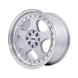 pelek avanza HSR Loud JD805 Ring 17x75-85 H8x100-1143 ET45-35 Silver
