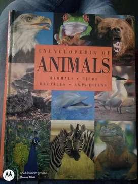 Encyclopedia of animals, mammals, birds, reptiles, amphibians