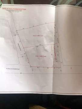 Ulloor aakkulam road new plots