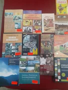 UPSC civil services exams books