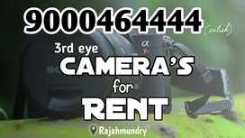Camera for rent in rajahmundry
