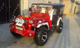 Mahindra modified Jeep all power