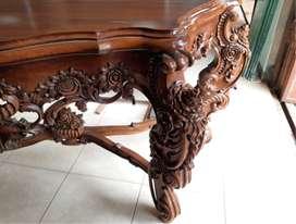 Jual meja rias kayu jati minimalis Terbaru, free ongkir