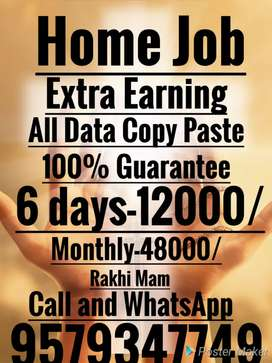 Home job Good Earning Support your family