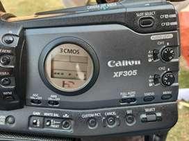 Canon XF305 video camera used