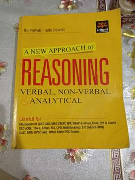 CLAT, UPSC, CAT, Bank Reasoning (Verbal, non - verbal and analytical)