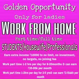 Work from home job for women