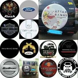 Cover/Sarung Ban Serep Suzuki Escudo/Rush/Terios n logo terbaru 2018 n