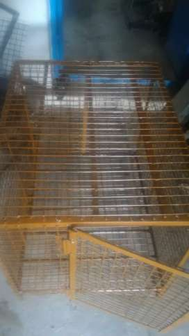 Heavy steel pet cages available