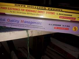 BE EEE 7TH AND 8TH SEM BOOKS