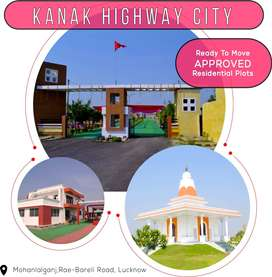 APPROVED Residential PLOTS on Rae Bareli Highway, Lucknow