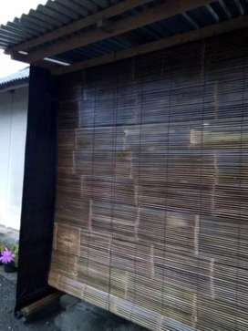 Krey bambu hitam natural