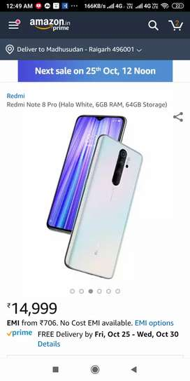 Seal pack redmi note 8 pro