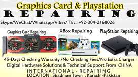 Graphic card repairing all kind of brand and model 100% Fixed