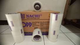 Lakban OPP Nachi 72x100Y BENING/COKLAT