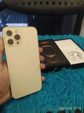 IPHONE 12 PRO MAX 256Gb Warna GOLD LIKE NEW BARU PAKAI 3 HARI