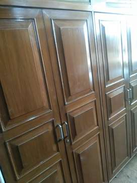 New condition almari double door tik lakkad