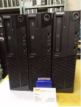 PC Lenovo M90 series CORE I3 ram 4gb HDD 250gb dvdrw second
