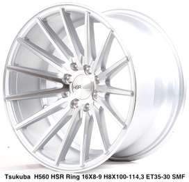 model TSUKUBA 560 HSR R16X8/9 H8X100-114,3 ET35/30 SMF