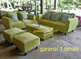 Yoshiko perabot - sofa midori hijau