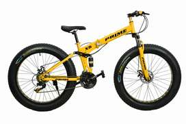 Brand new fat folding cycle with brand new hybrid 21 shimano gear
