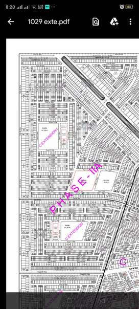 Plot for sale in extension on invester rate
