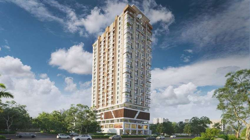 Type A Park Facing Corner Apartment For Sale In Theme Park Residency 0