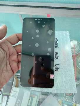 Lcd touchscreen Xiaomi Mi 8 lite sekalian pasang bisa di tunggu