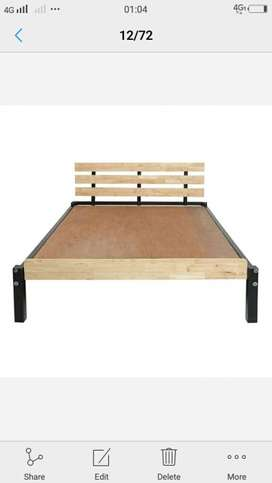 queen size cot brand new own manufacturing factory