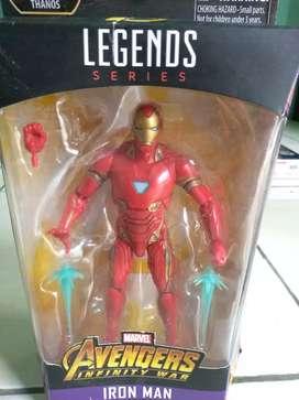 Action figure iron man mark 50