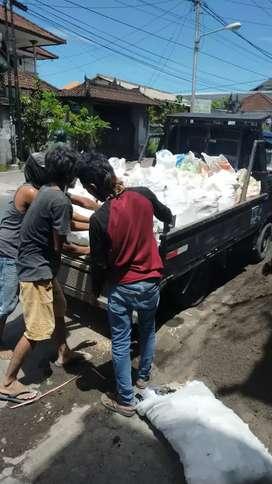 Jasa buang puing Pickup DEFA TRANS Bali siap Kebangli Minimal 3 x