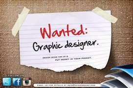 M looking for all kind of advertising graphic designer