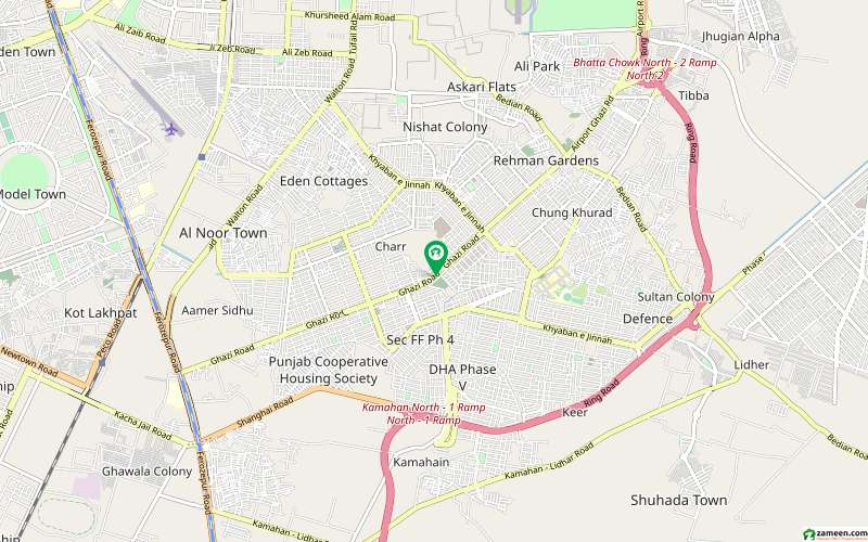In DHA Defence 1 Kanal Upper Portion For Rent