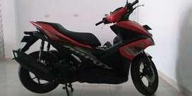 Jual cepat Yamaha Aerox 155 AVV Merah dop