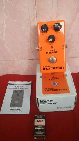 Efek Gitar Nux DS-3 Classic Distortion