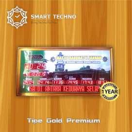 Banyak Dicari Jam Digital Masjid Tipe Gold Premium Special Product `ab