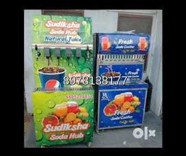 Soda hub soft drinks vending machine