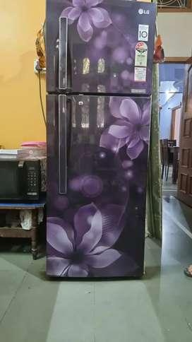 Lg double door new fridge
