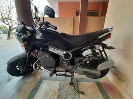Honda navi BS4 black colour well maintained.
