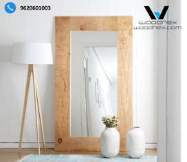 Imported Pine Wood Mirror-Beautybash Termite free and Tri-Coated