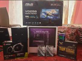 Gaming pc and 144hz monitor for sell