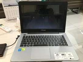 Laptop Asus A455L/ Core i3-4005U/ 2GB + 4GB/ 500GB/ 14 Inch/ UNIT ONLY