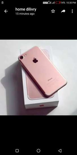 IPhone 7in working candition bill box all accessories