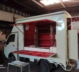 Brand new tata ace bs6 petrol customized into food truck.