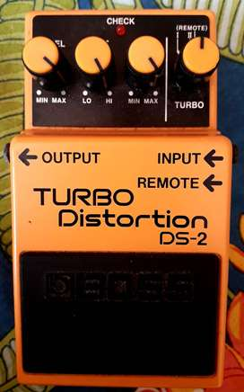 Electric Guitar Pedal Boss DS 2 Turbo