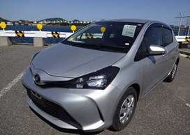 Toyota Vitz 2016 on easy monthly installment.