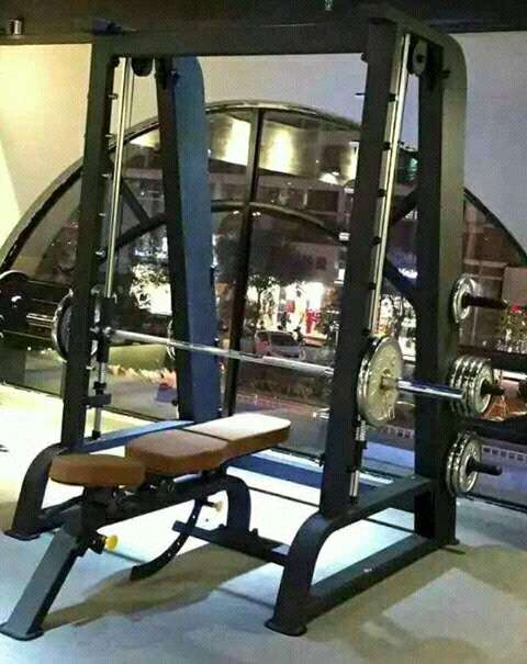 Alat fitnes bench press sepaket 0
