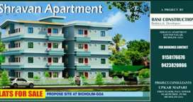 Flats for sale at govind nagar bicholim